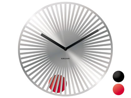 Sunshine Disc Pendulum Wall Clock Cool clock designs