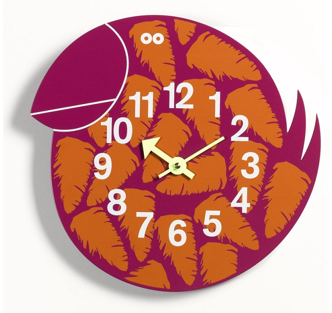 Talulah the Tucan Clock Cool clock designs