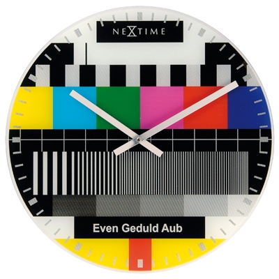 Test page wall clock