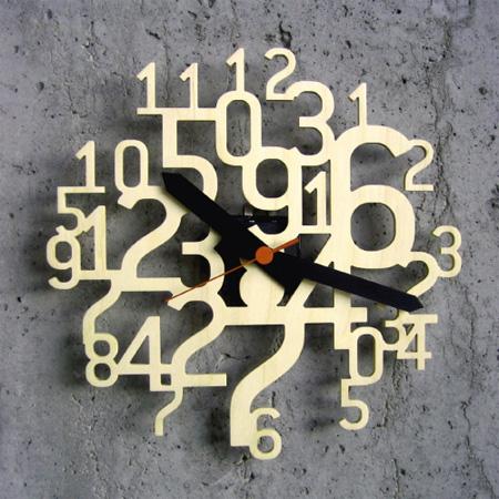 Uhrzahl Clock Cool clock designs
