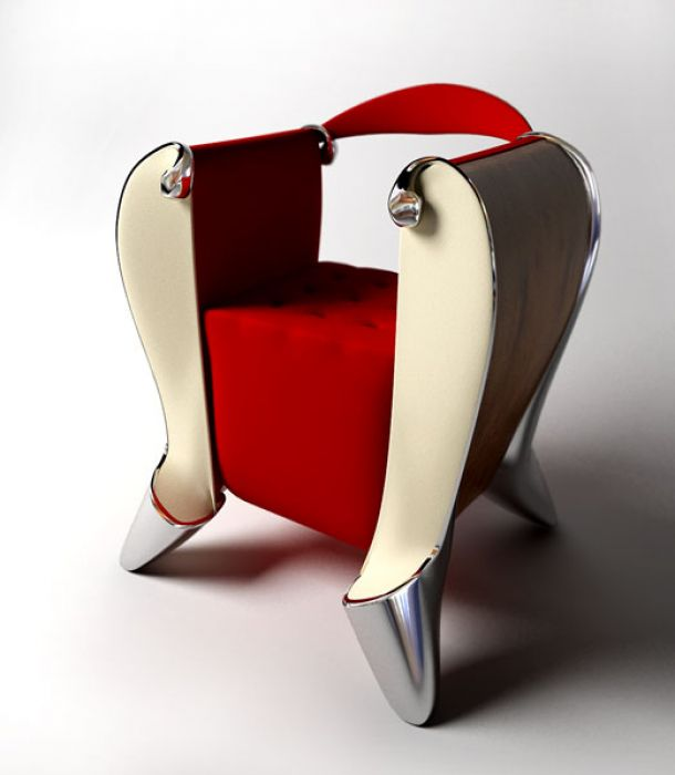 barok chair Unconventional chair designs