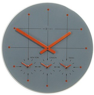 big city wall clock iii Cool clock designs
