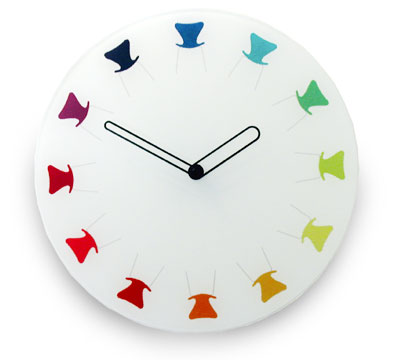 chairs-clock