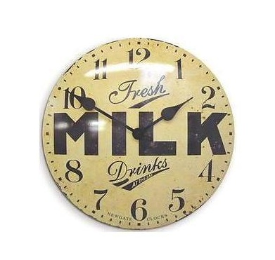 convex milk wall clock Cool clock designs