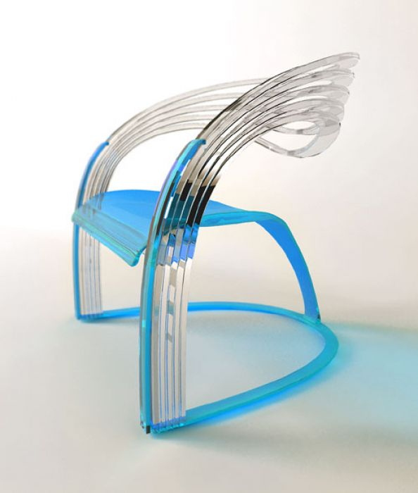 cristal chair Unconventional chair designs