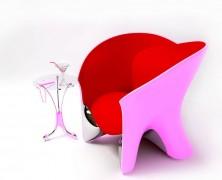 Unconventional chair designs