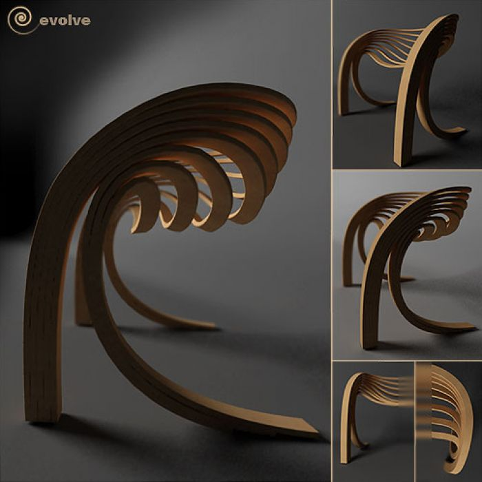 evolve chair Unconventional chair designs