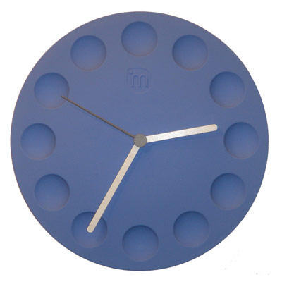 fridge clock blue Cool clock designs