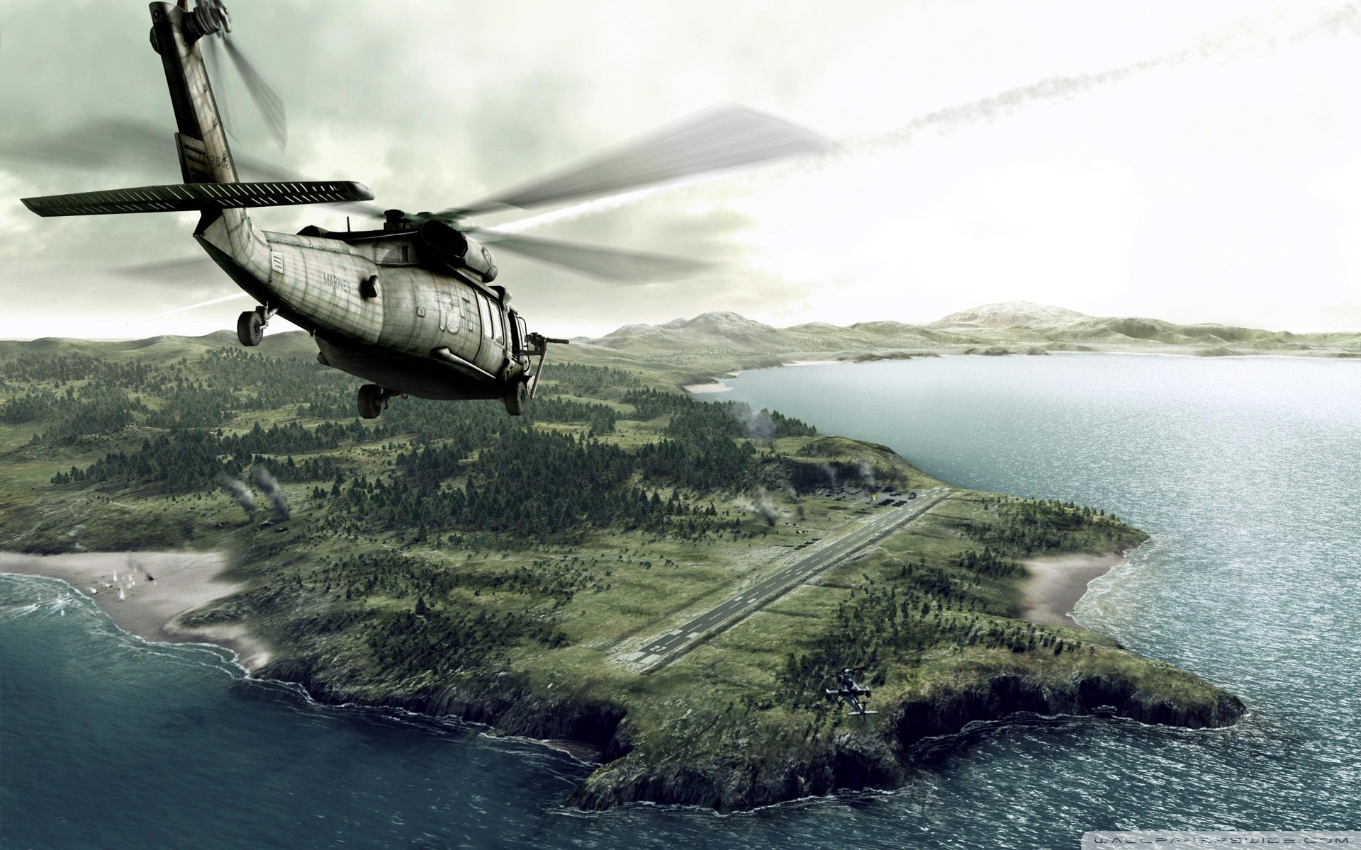 helicopter wallpaper 2 wide -#main