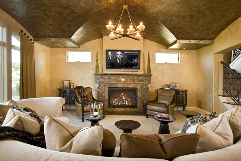 home theater4 Home theatre ideas