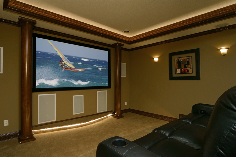 home theater6 Home theatre ideas