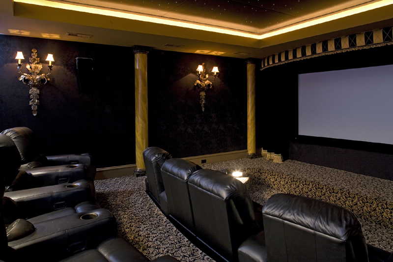 home theater7 Home theatre ideas