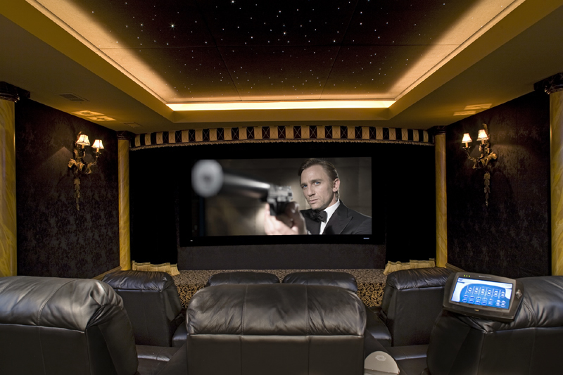 home theater8 Home theatre ideas