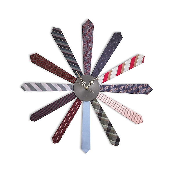 tie wall clock Cool clock designs
